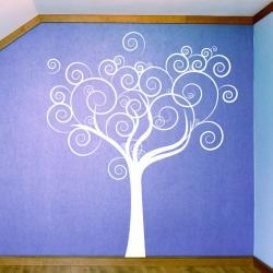 Whimsical LoveTree Wall Decal- Vinyl Wall Art Decal Sticker
