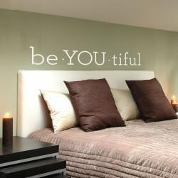 Be YOU tiful - Quote - Vinyl Wall Art Decal Sticker