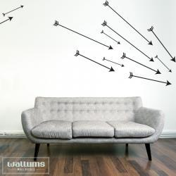 Set of Cupid's Arrows - Vinyl Wall Art Decal Sticker