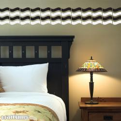 Wall Waves Two Color Wall Decal