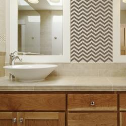 Chevron Stripes Style 3 Wall Art Decal
