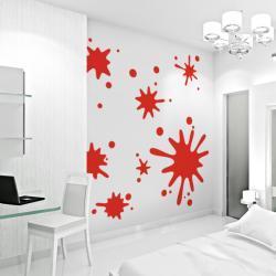 Paint Splatter Wall Decals